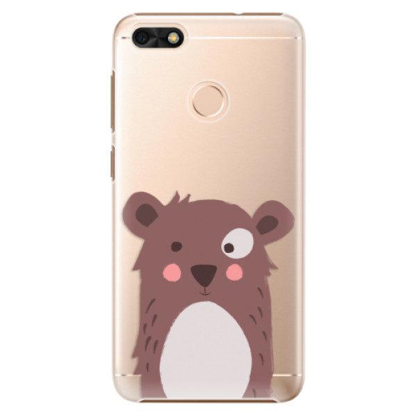 Plastové pouzdro iSaprio – Brown Bear – Huawei P9 Lite Mini Plastové pouzdro iSaprio – Brown Bear – Huawei P9 Lite Mini