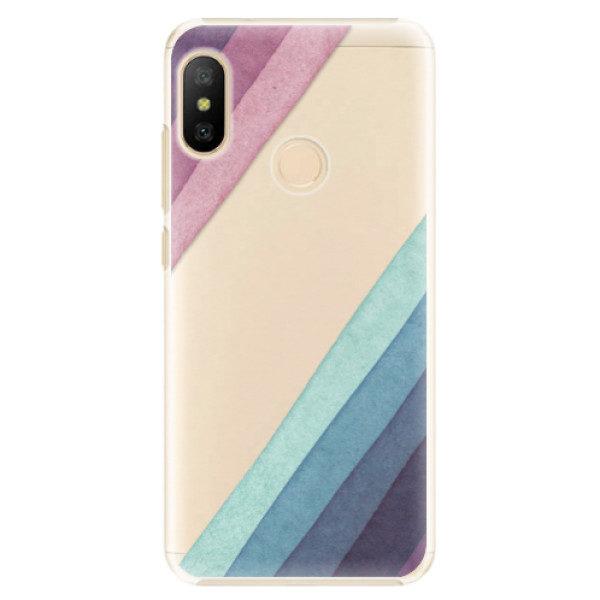 Plastové pouzdro iSaprio – Glitter Stripes 01 – Xiaomi Mi A2 Lite Plastové pouzdro iSaprio – Glitter Stripes 01 – Xiaomi Mi A2 Lite