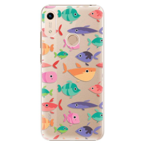 Plastové pouzdro iSaprio – Fish pattern 01 – Huawei Honor 8A Plastové pouzdro iSaprio – Fish pattern 01 – Huawei Honor 8A