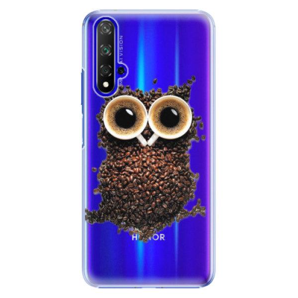 Plastové pouzdro iSaprio – Owl And Coffee – Huawei Honor 20 Plastové pouzdro iSaprio – Owl And Coffee – Huawei Honor 20
