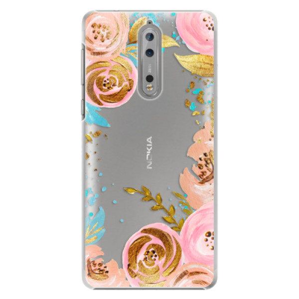 Plastové pouzdro iSaprio – Golden Youth – Nokia 8 Plastové pouzdro iSaprio – Golden Youth – Nokia 8