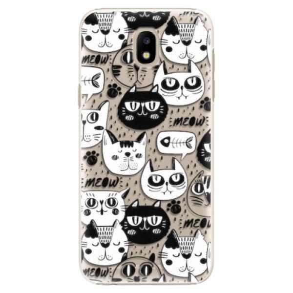 Plastové pouzdro iSaprio – Cat pattern 03 – Samsung Galaxy J5 2017 Plastové pouzdro iSaprio – Cat pattern 03 – Samsung Galaxy J5 2017