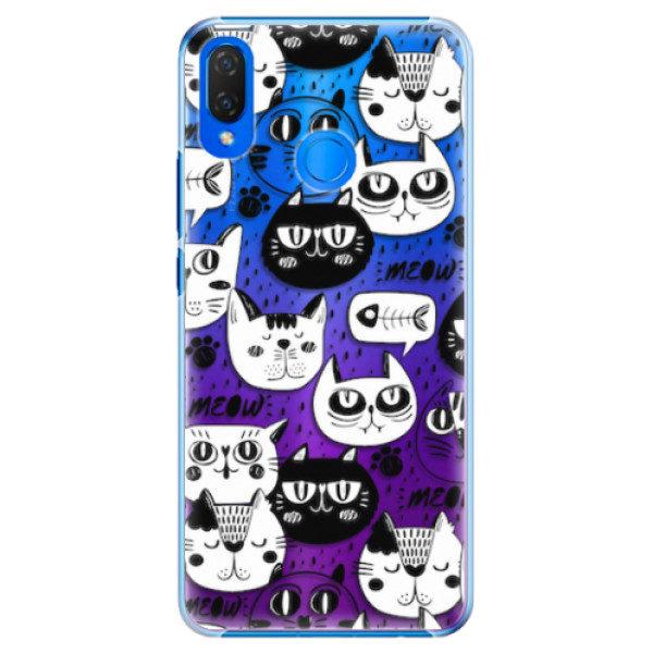 Plastové pouzdro iSaprio – Cat pattern 03 – Huawei Nova 3i Plastové pouzdro iSaprio – Cat pattern 03 – Huawei Nova 3i