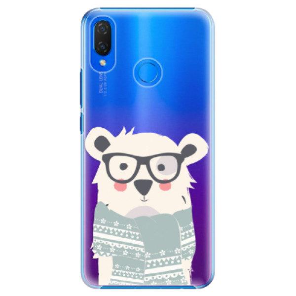 Plastové pouzdro iSaprio – Bear with Scarf – Huawei Nova 3i Plastové pouzdro iSaprio – Bear with Scarf – Huawei Nova 3i