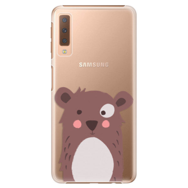 Plastové pouzdro iSaprio – Brown Bear – Samsung Galaxy A7 (2018) Plastové pouzdro iSaprio – Brown Bear – Samsung Galaxy A7 (2018)