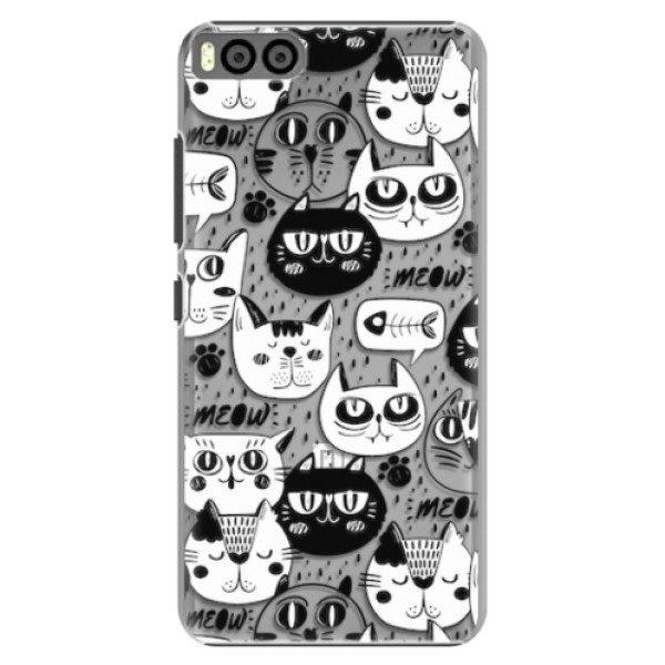 Plastové pouzdro iSaprio – Cat pattern 03 – Xiaomi Mi6 Plastové pouzdro iSaprio – Cat pattern 03 – Xiaomi Mi6