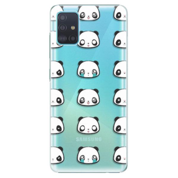 Plastové pouzdro iSaprio – Panda pattern 01 – Samsung Galaxy A51 Plastové pouzdro iSaprio – Panda pattern 01 – Samsung Galaxy A51