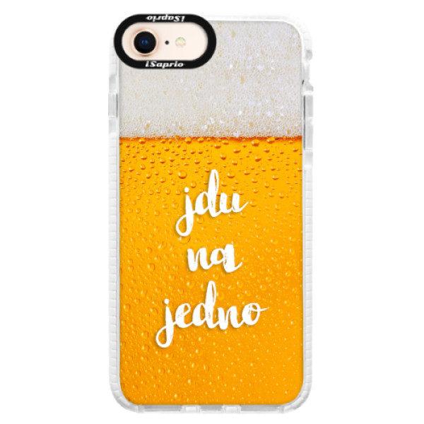 Silikonové pouzdro Bumper iSaprio – Jdu na jedno – iPhone 8 Silikonové pouzdro Bumper iSaprio – Jdu na jedno – iPhone 8