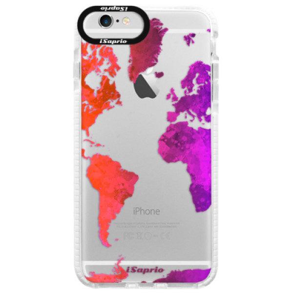 Silikonové pouzdro Bumper iSaprio – Warm Map – iPhone 6 Plus/6S Plus Silikonové pouzdro Bumper iSaprio – Warm Map – iPhone 6 Plus/6S Plus