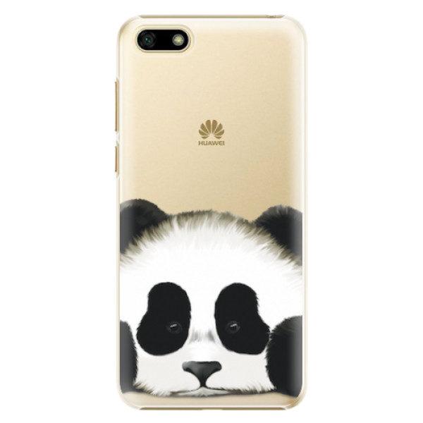 Plastové pouzdro iSaprio – Sad Panda – Huawei Y5 2018 Plastové pouzdro iSaprio – Sad Panda – Huawei Y5 2018