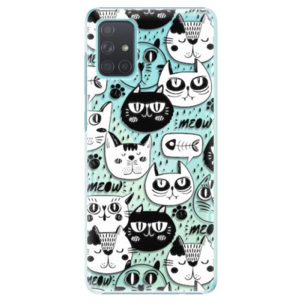 Plastové pouzdro iSaprio – Cat pattern 03 – Samsung Galaxy A71 Plastové pouzdro iSaprio – Cat pattern 03 – Samsung Galaxy A71