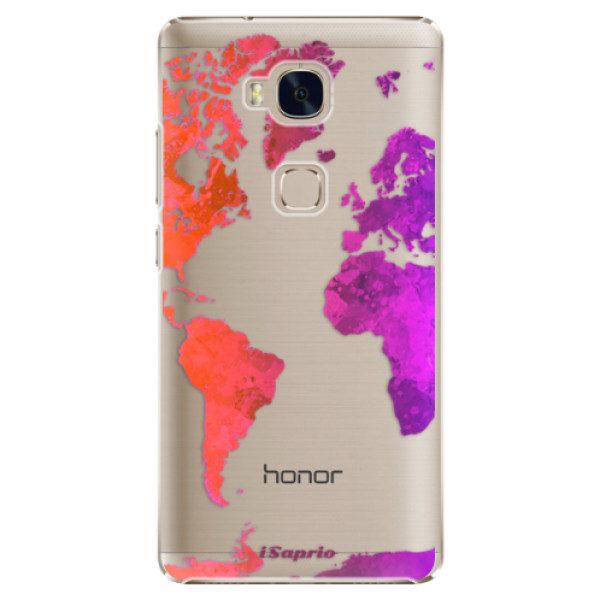 Plastové pouzdro iSaprio – Warm Map – Huawei Honor 5X Plastové pouzdro iSaprio – Warm Map – Huawei Honor 5X