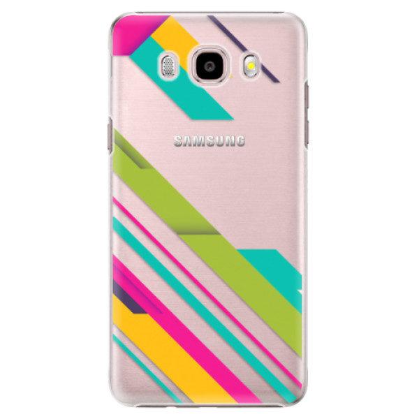 Plastové pouzdro iSaprio – Color Stripes 03 – Samsung Galaxy J5 2016 Plastové pouzdro iSaprio – Color Stripes 03 – Samsung Galaxy J5 2016