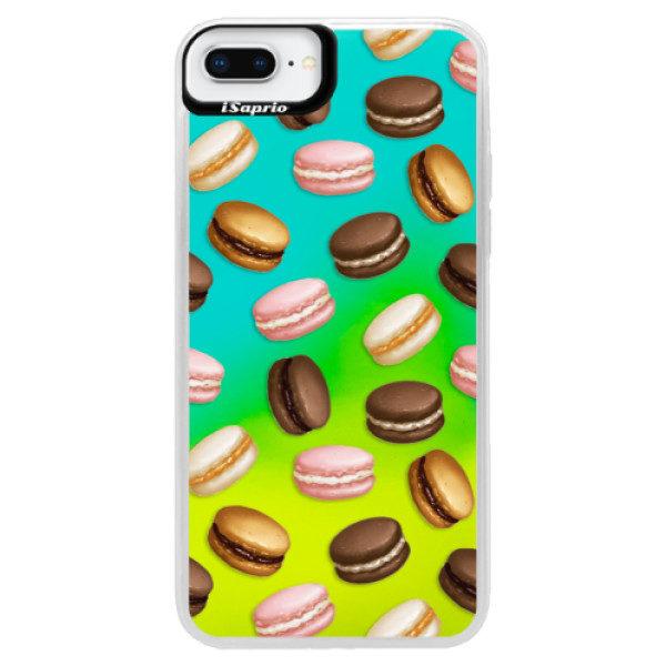 Neonové pouzdro Blue iSaprio – Macaron Pattern – iPhone 8 Plus Neonové pouzdro Blue iSaprio – Macaron Pattern – iPhone 8 Plus