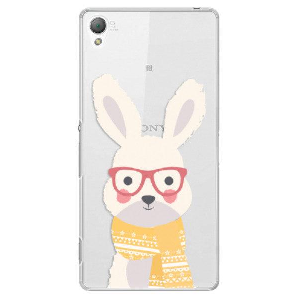 Plastové pouzdro iSaprio – Smart Rabbit – Sony Xperia Z3 Plastové pouzdro iSaprio – Smart Rabbit – Sony Xperia Z3