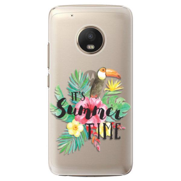 Plastové pouzdro iSaprio – Summer Time – Lenovo Moto G5 Plus Plastové pouzdro iSaprio – Summer Time – Lenovo Moto G5 Plus