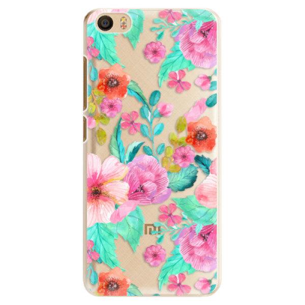 Plastové pouzdro iSaprio – Flower Pattern 01 – Xiaomi Mi5 Plastové pouzdro iSaprio – Flower Pattern 01 – Xiaomi Mi5