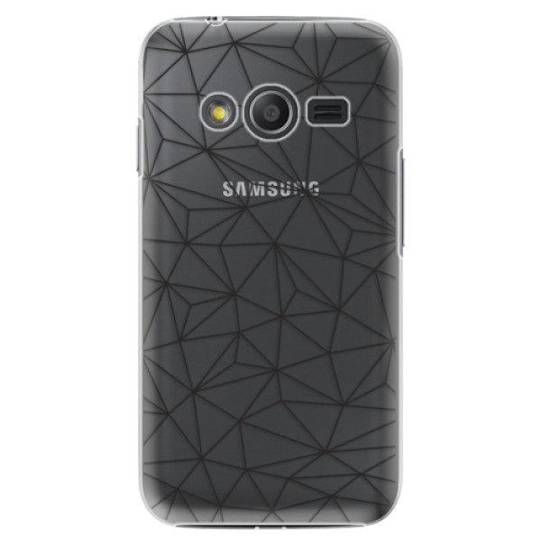 Plastové pouzdro iSaprio – Abstract Triangles 03 – black – Samsung Galaxy Trend 2 Lite Plastové pouzdro iSaprio – Abstract Triangles 03 – black – Samsung Galaxy Trend 2 Lite