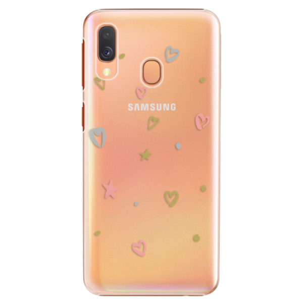 Plastové pouzdro iSaprio – Lovely Pattern – Samsung Galaxy A40 Plastové pouzdro iSaprio – Lovely Pattern – Samsung Galaxy A40