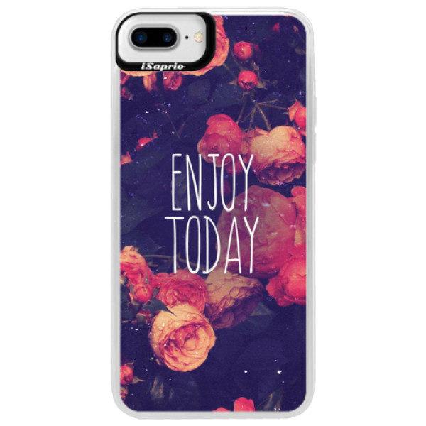Neonové pouzdro Blue iSaprio – Enjoy Today – iPhone 7 Plus Neonové pouzdro Blue iSaprio – Enjoy Today – iPhone 7 Plus