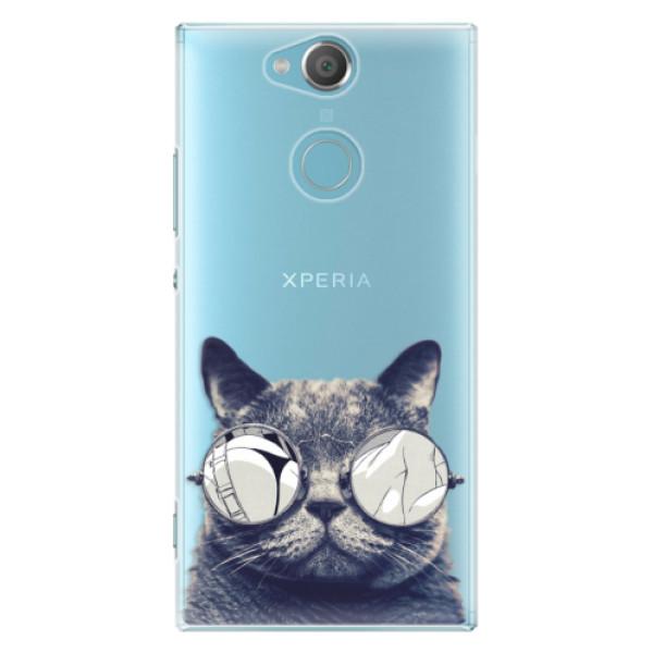 Plastové pouzdro iSaprio – Crazy Cat 01 – Sony Xperia XA2 Plastové pouzdro iSaprio – Crazy Cat 01 – Sony Xperia XA2