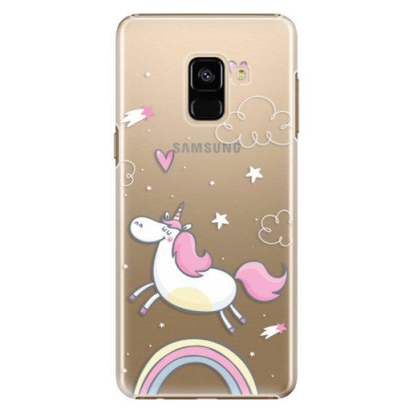 Plastové pouzdro iSaprio – Unicorn 01 – Samsung Galaxy A8 2018 Plastové pouzdro iSaprio – Unicorn 01 – Samsung Galaxy A8 2018