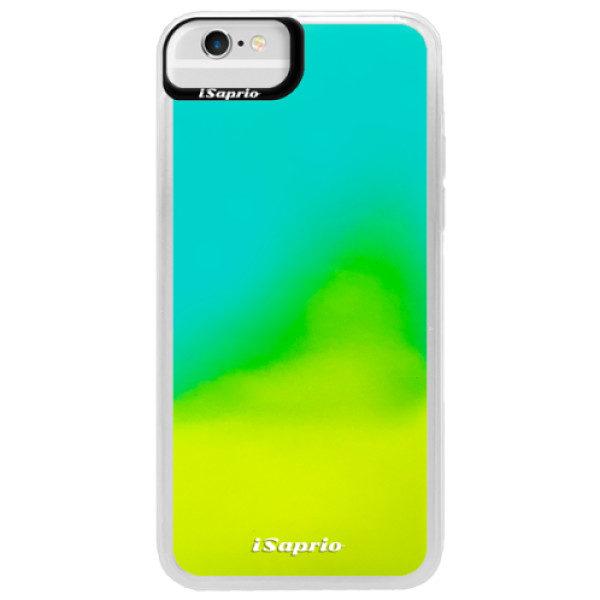 Neonové pouzdro Blue iSaprio – 4Pure – mléčný bez potisku – iPhone 6/6S Neonové pouzdro Blue iSaprio – 4Pure – mléčný bez potisku – iPhone 6/6S