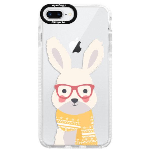 Silikonové pouzdro Bumper iSaprio – Smart Rabbit – iPhone 8 Plus Silikonové pouzdro Bumper iSaprio – Smart Rabbit – iPhone 8 Plus