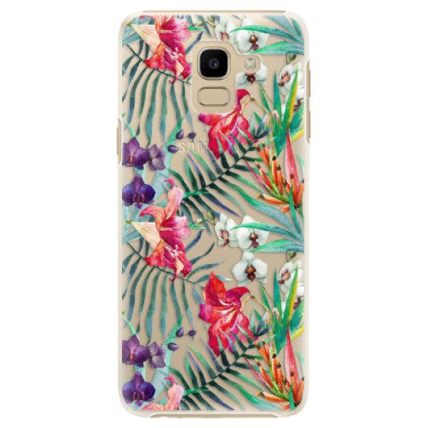 Plastové pouzdro iSaprio – Flower Pattern 03 – Samsung Galaxy J6 Plastové pouzdro iSaprio – Flower Pattern 03 – Samsung Galaxy J6