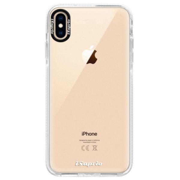Silikonové pouzdro Bumper iSaprio – 4Pure – mléčný bez potisku – iPhone XS Max Silikonové pouzdro Bumper iSaprio – 4Pure – mléčný bez potisku – iPhone XS Max