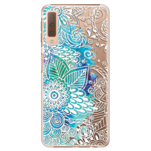 Plastové pouzdro iSaprio – Lace 03 – Samsung Galaxy A7 (2018) Plastové pouzdro iSaprio – Lace 03 – Samsung Galaxy A7 (2018)