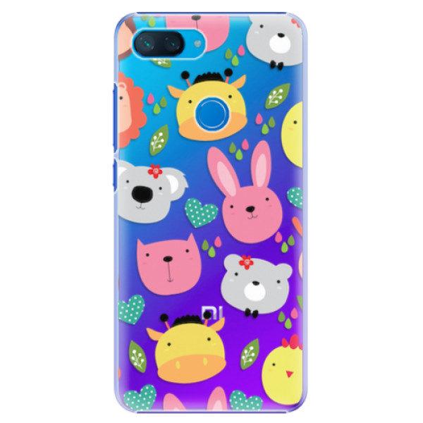 Plastové pouzdro iSaprio – Animals 01 – Xiaomi Mi 8 Lite Plastové pouzdro iSaprio – Animals 01 – Xiaomi Mi 8 Lite