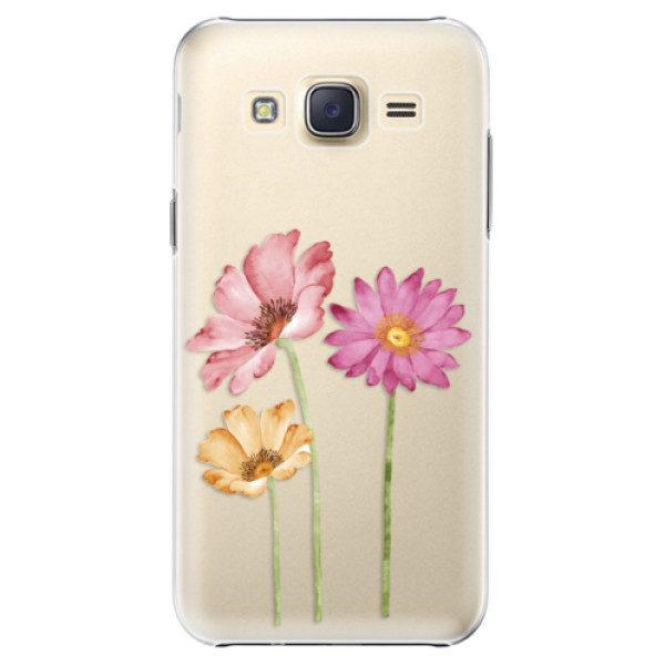 Plastové pouzdro iSaprio – Three Flowers – Samsung Galaxy Core Prime Plastové pouzdro iSaprio – Three Flowers – Samsung Galaxy Core Prime
