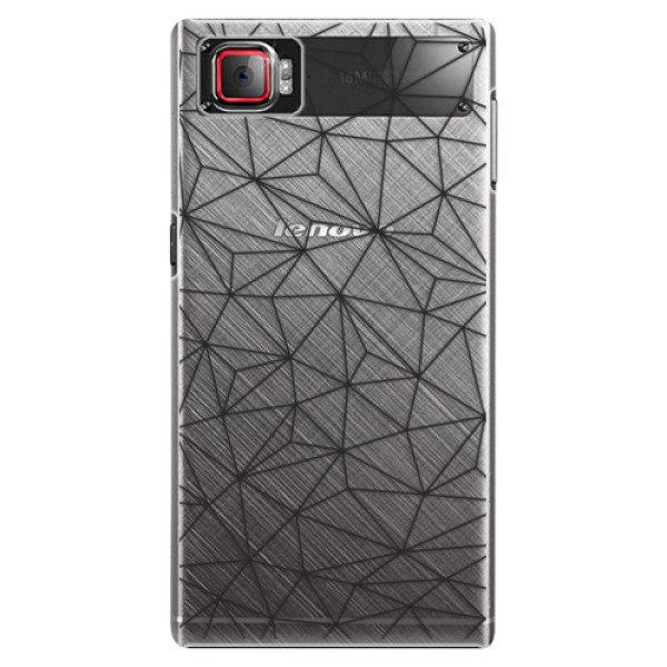 Plastové pouzdro iSaprio – Abstract Triangles 03 – black – Lenovo Z2 Pro Plastové pouzdro iSaprio – Abstract Triangles 03 – black – Lenovo Z2 Pro
