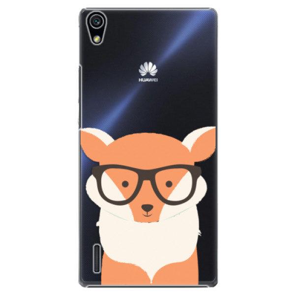 Plastové pouzdro iSaprio – Orange Fox – Huawei Ascend P7 Plastové pouzdro iSaprio – Orange Fox – Huawei Ascend P7