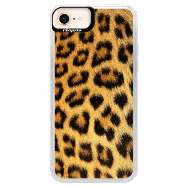 Neonové pouzdro Pink iSaprio – Jaguar Skin – iPhone 8 Neonové pouzdro Pink iSaprio – Jaguar Skin – iPhone 8