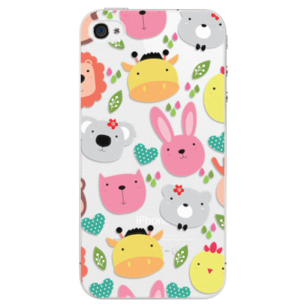 Plastové pouzdro iSaprio – Animals 01 – iPhone 4/4S Plastové pouzdro iSaprio – Animals 01 – iPhone 4/4S