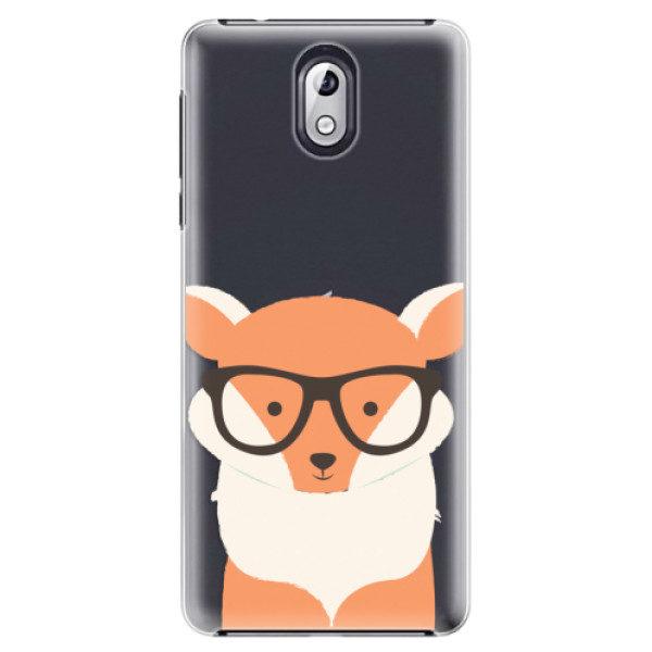 Plastové pouzdro iSaprio – Orange Fox – Nokia 3.1 Plastové pouzdro iSaprio – Orange Fox – Nokia 3.1