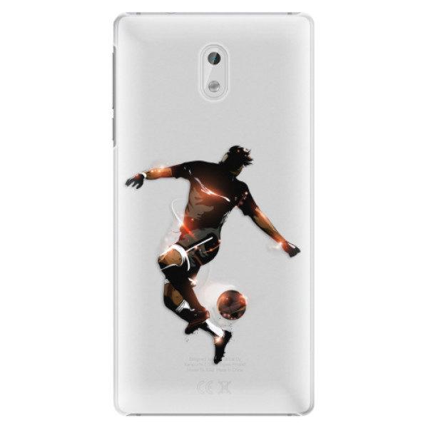Plastové pouzdro iSaprio – Fotball 01 – Nokia 3 Plastové pouzdro iSaprio – Fotball 01 – Nokia 3