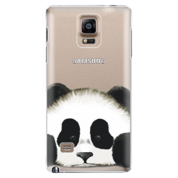 Plastové pouzdro iSaprio – Sad Panda – Samsung Galaxy Note 4 Plastové pouzdro iSaprio – Sad Panda – Samsung Galaxy Note 4