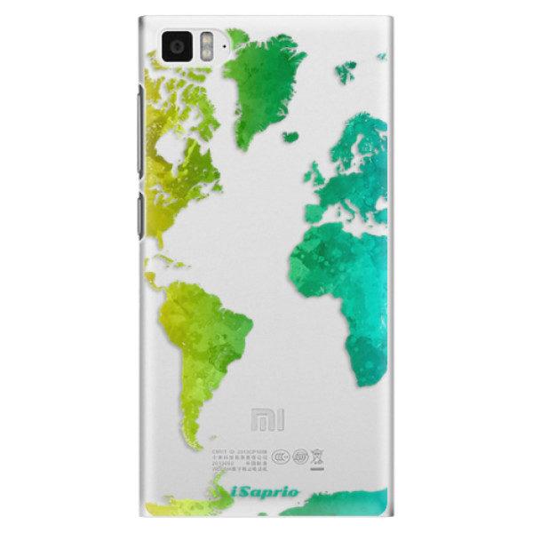 Plastové pouzdro iSaprio – Cold Map – Xiaomi Mi3 Plastové pouzdro iSaprio – Cold Map – Xiaomi Mi3