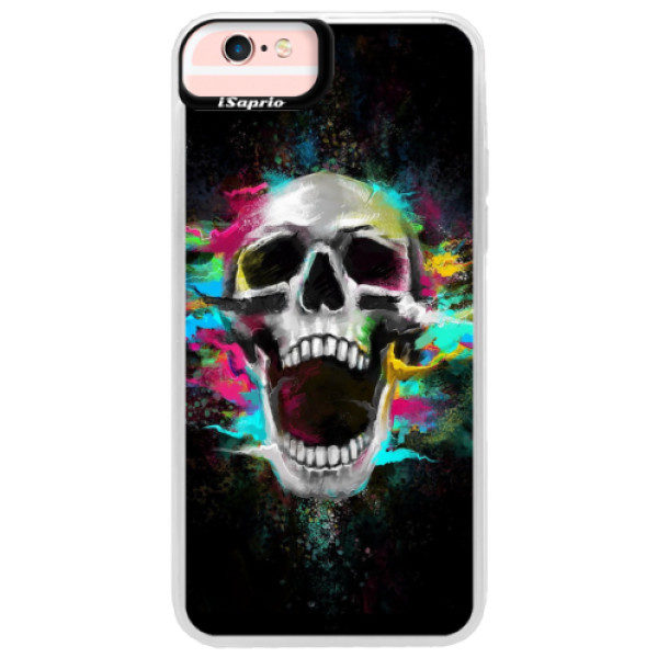 Neonové pouzdro Pink iSaprio – Skull in Colors – iPhone 6 Plus/6S Plus Neonové pouzdro Pink iSaprio – Skull in Colors – iPhone 6 Plus/6S Plus