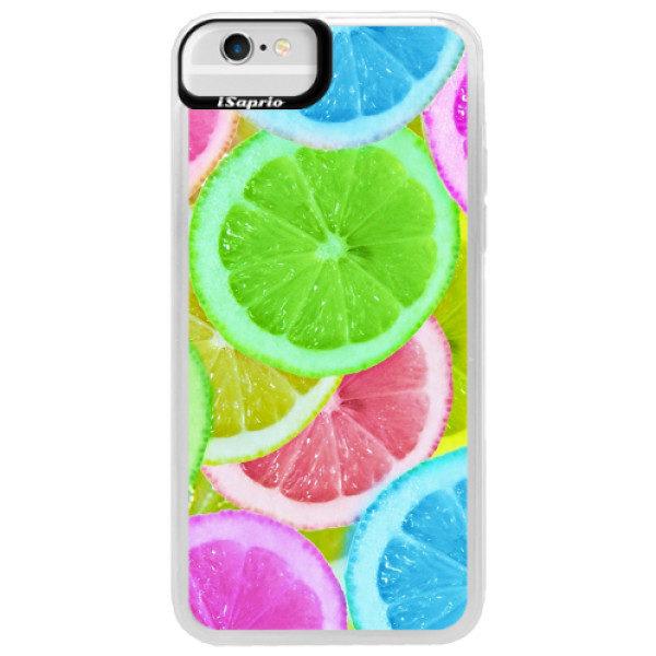 Neonové pouzdro Blue iSaprio – Lemon 02 – iPhone 6/6S Neonové pouzdro Blue iSaprio – Lemon 02 – iPhone 6/6S