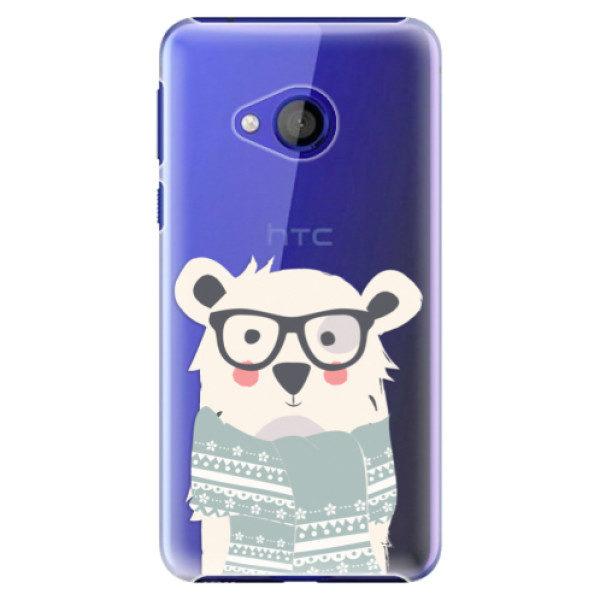 Plastové pouzdro iSaprio – Bear with Scarf – HTC U Play Plastové pouzdro iSaprio – Bear with Scarf – HTC U Play