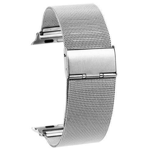 Kovový pásek / řemínek iSaprio Milanese Classic pro Apple Watch 38mm Kovový pásek / řemínek iSaprio Milanese Classic pro Apple Watch 38mm