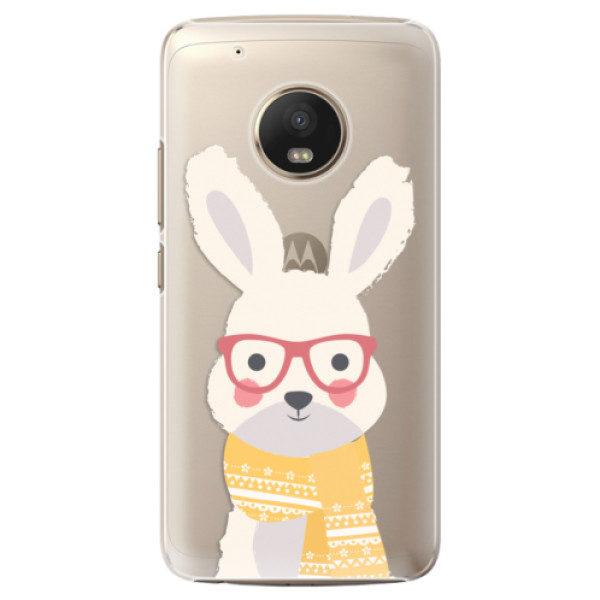 Plastové pouzdro iSaprio – Smart Rabbit – Lenovo Moto G5 Plus Plastové pouzdro iSaprio – Smart Rabbit – Lenovo Moto G5 Plus