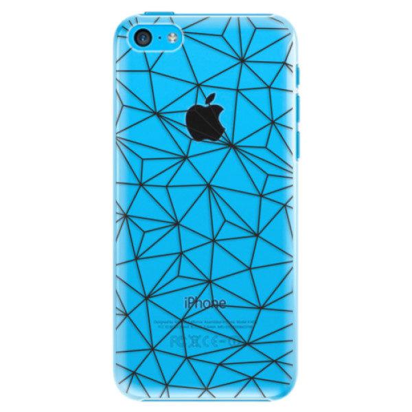 Plastové pouzdro iSaprio – Abstract Triangles 03 – black – iPhone 5C Plastové pouzdro iSaprio – Abstract Triangles 03 – black – iPhone 5C