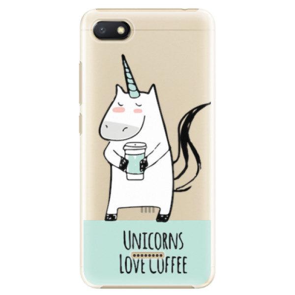 Plastové pouzdro iSaprio – Unicorns Love Coffee – Xiaomi Redmi 6A Plastové pouzdro iSaprio – Unicorns Love Coffee – Xiaomi Redmi 6A