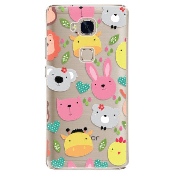 Plastové pouzdro iSaprio – Unicorns Love Coffee – Huawei Honor 5X Plastové pouzdro iSaprio – Unicorns Love Coffee – Huawei Honor 5X