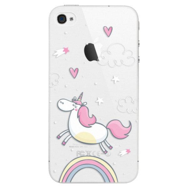 Plastové pouzdro iSaprio – Unicorn 01 – iPhone 4/4S Plastové pouzdro iSaprio – Unicorn 01 – iPhone 4/4S